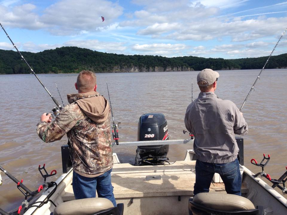 May 21st 2015 blue catfish at grand in the current for Grand lake ok fishing report