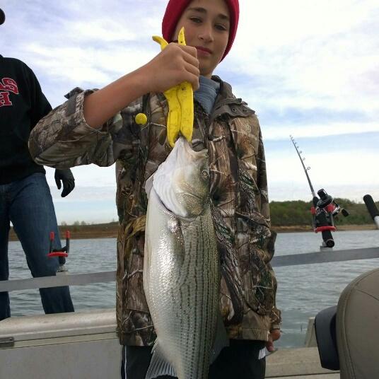 Hybrid striper fishing on skiatook lake for Skiatook lake fishing report