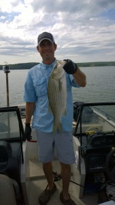 Fishing for Hybrid-Striper