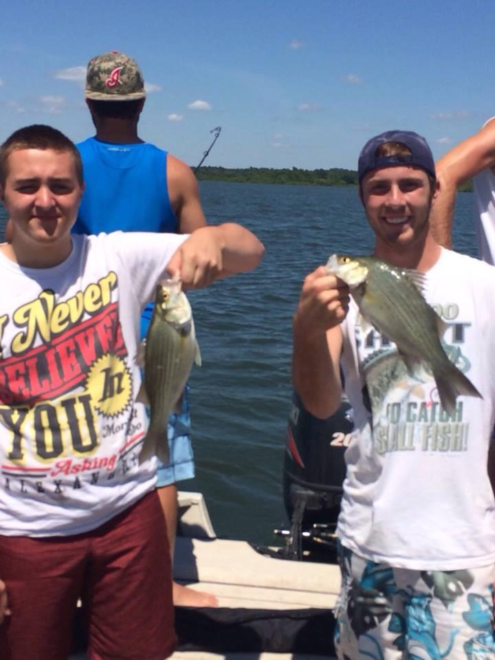Grand lake white bass for Oklahoma lake fishing reports