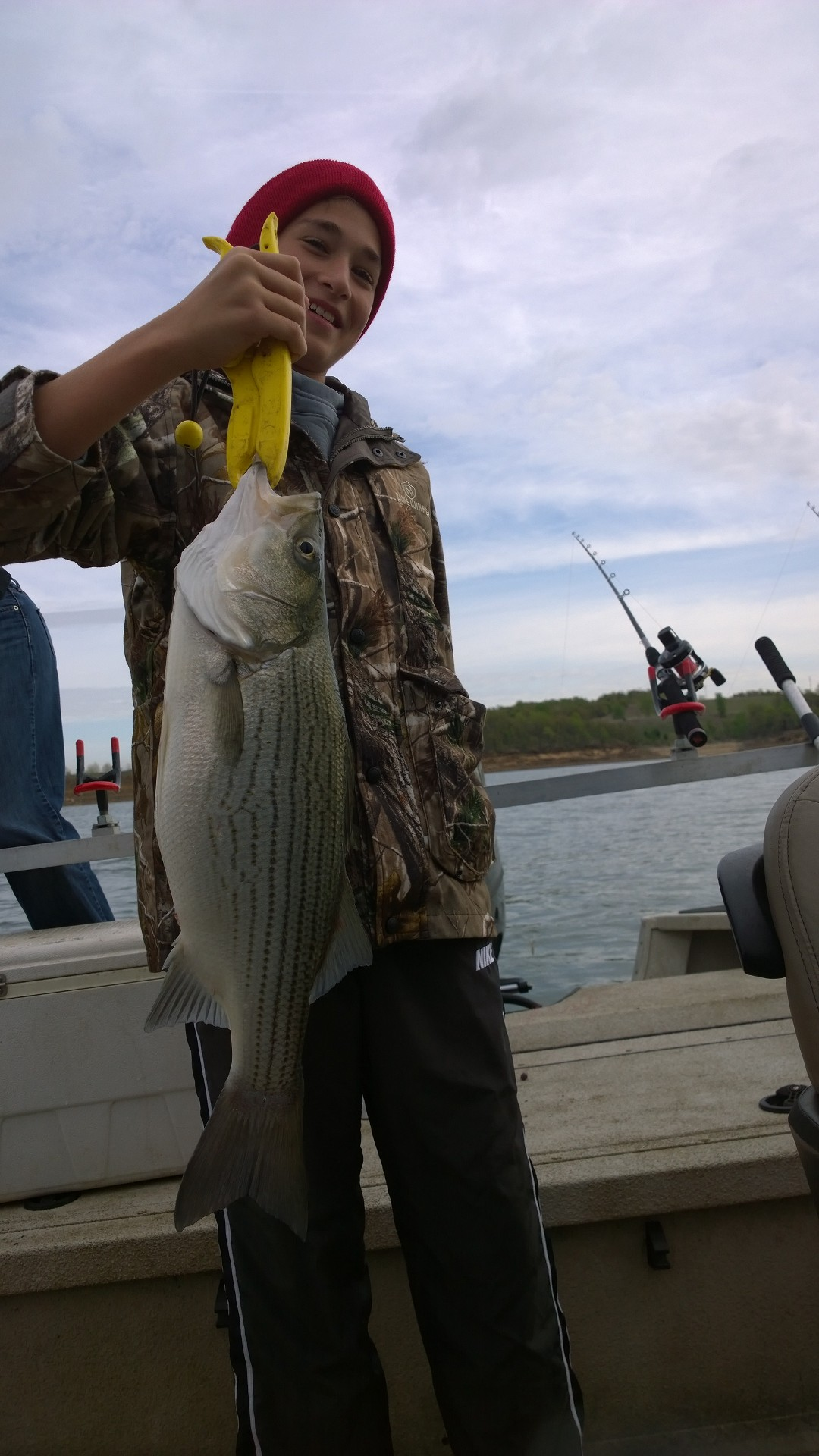 Hybrid stiper aka wiper skiatook lake oklahoma lance 39 s for Skiatook lake fishing report