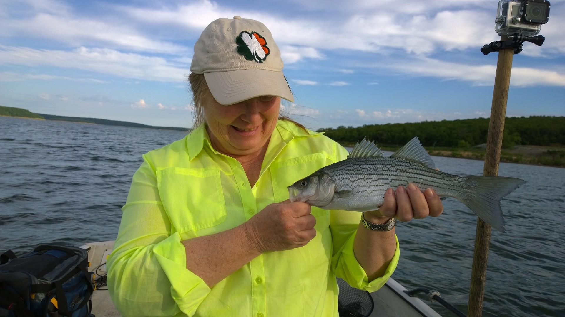 June 8th skiatook lake fishing for hybrid striper pray for Fishing in oklahoma
