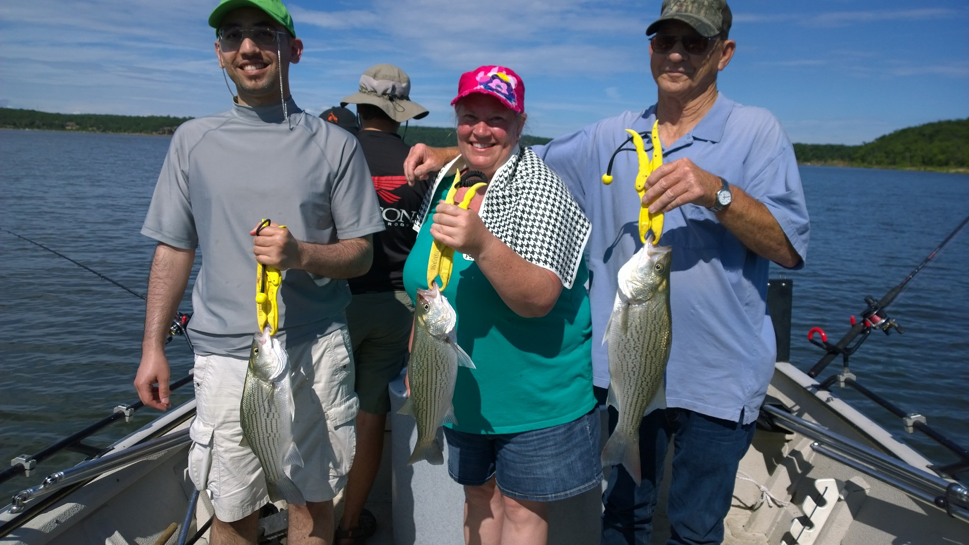 Fishing for hybrid striper at skiatook lake in oklahoma for Fishing forecast oklahoma