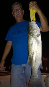 Keystone Lake Stripers