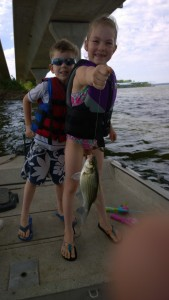 White Bass (sand bass) Grand Lake