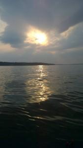 Grand Lake Oklahoma Sunset