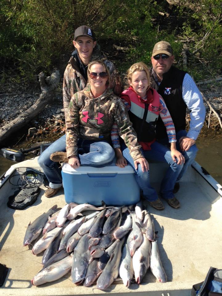 Grand lake drifting for blue catfish 10 18 15 for Grand lake fishing report