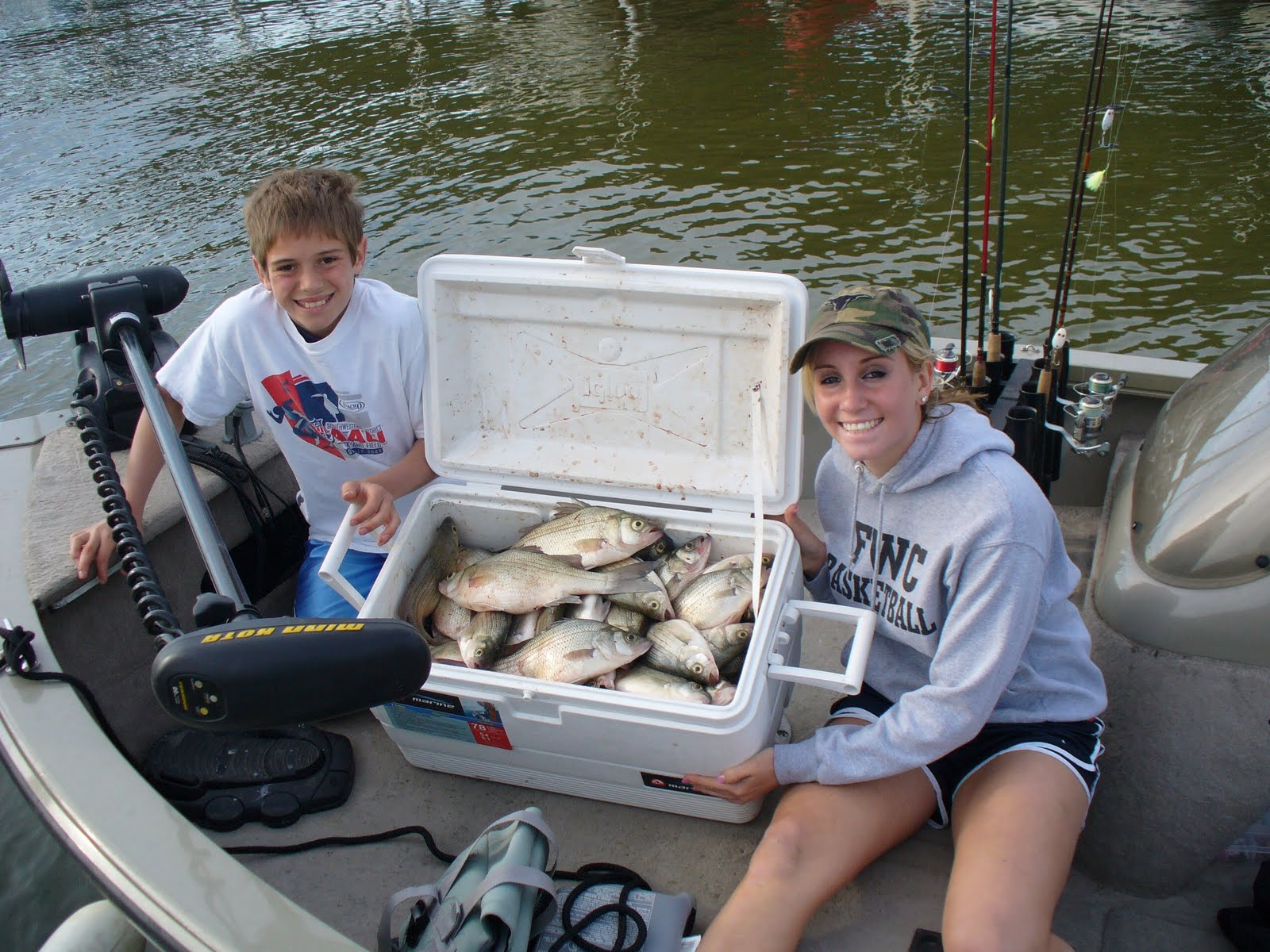 Eagle mountain in texas white bass fishing with lance 39 s for Eagle lake texas fishing