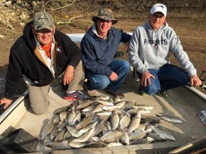 Oologah Lake white bass sand bass