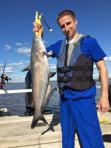 Oologah Lake blue catfish