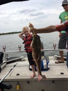 Oologah Lake flathead catfish